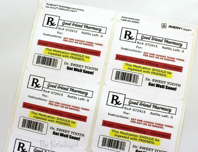 Printable Fake Prescription Labels Luxury 137 Best Gag Medical Labels Images On Pinterest