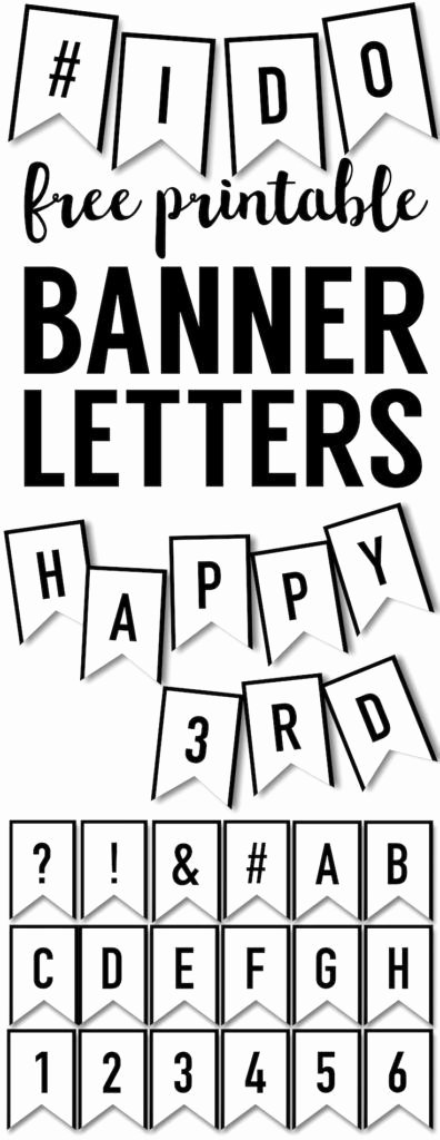 Printable Letter Banners Luxury Banner Templates Free Printable Abc Letters