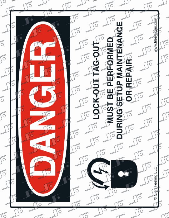 Printable Lock Out Tag Out Tags Fresh File Sign and Label Danger Lock Out Tag Out Must Be