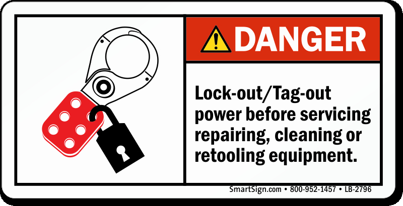 Printable Lock Out Tag Out Tags Fresh Lockout Tagout Power before Repairing Retooling Label
