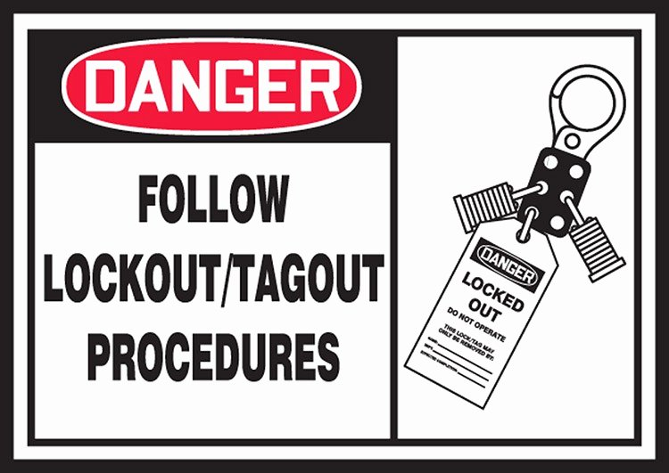 Printable Lock Out Tag Out Tags Unique Line Lockout Tag Out Loto Training