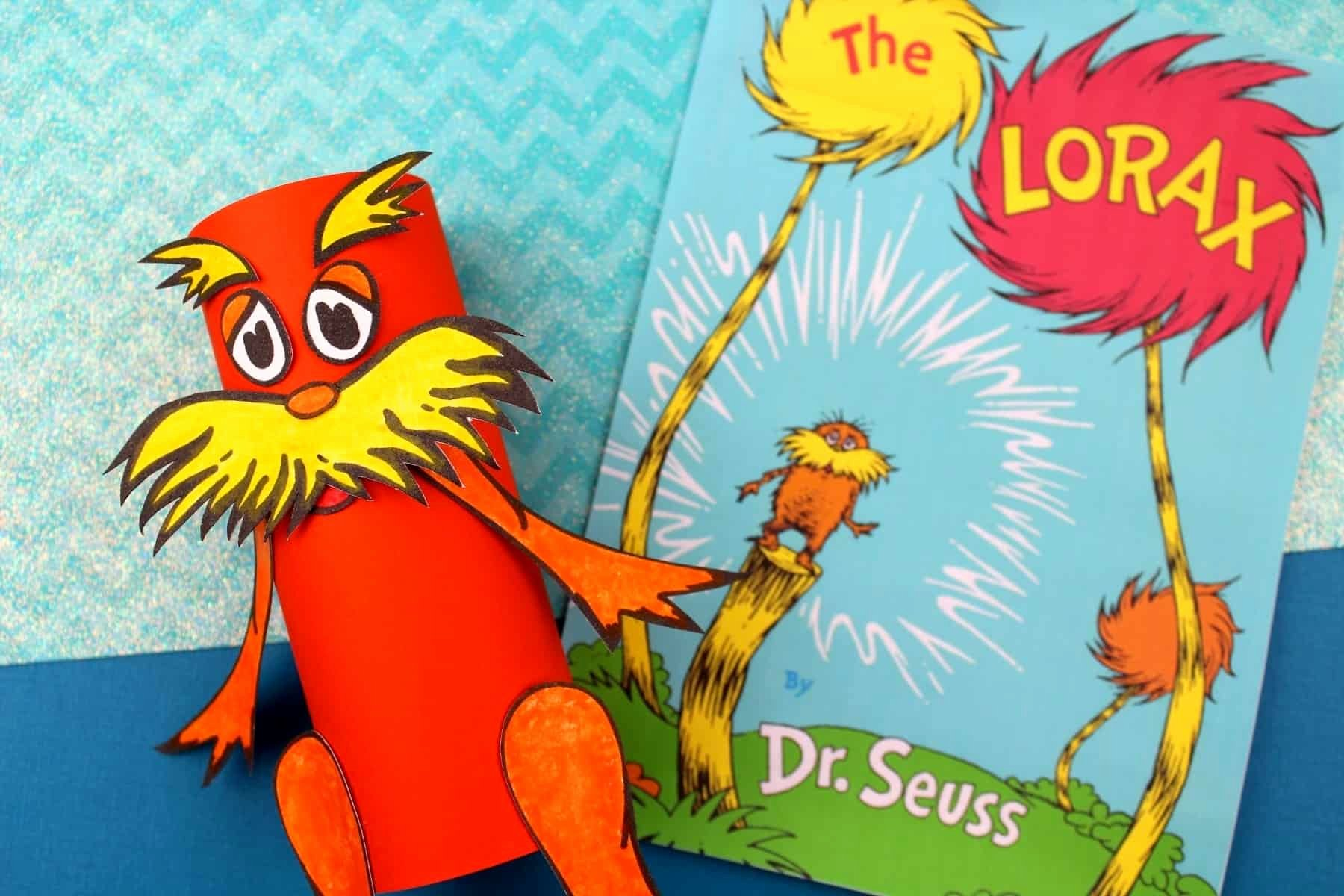 Printable Lorax Mustache and Eyebrows Beautiful Dr Seuss Lorax toilet Paper Roll Craft Free the Lorax