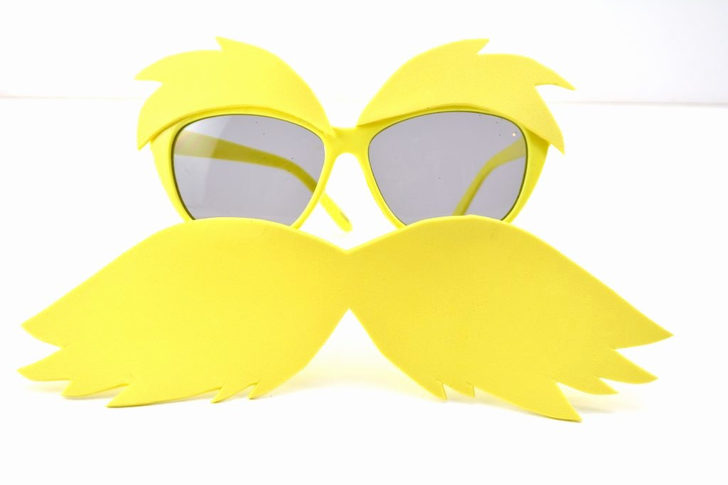 Printable Lorax Mustache and Eyebrows Best Of Make Your Own Quick and Easy Diy Lorax Costume