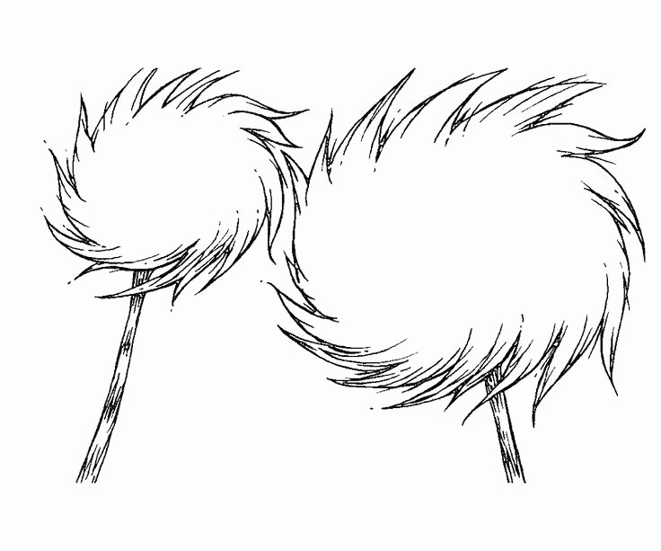 Printable Lorax Mustache and Eyebrows Luxury Lorax Printable – Jeannettecliftgeorge