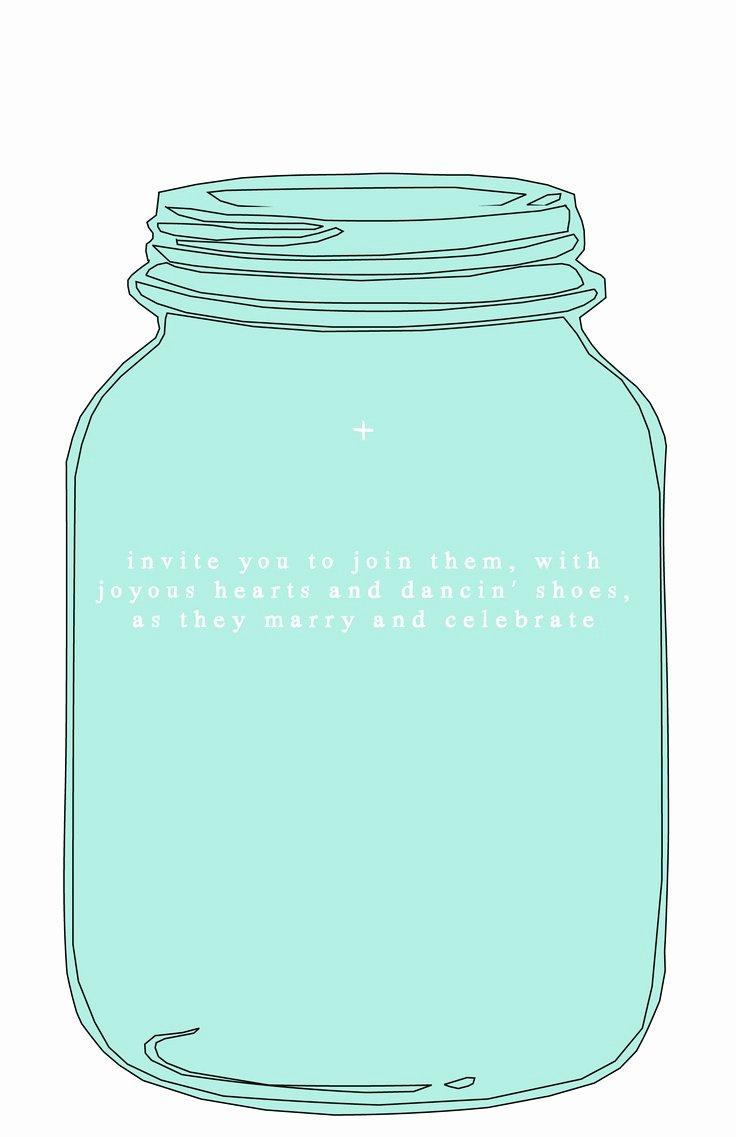 Printable Mason Jar Template Beautiful 1000 Images About Mason Jar On Pinterest