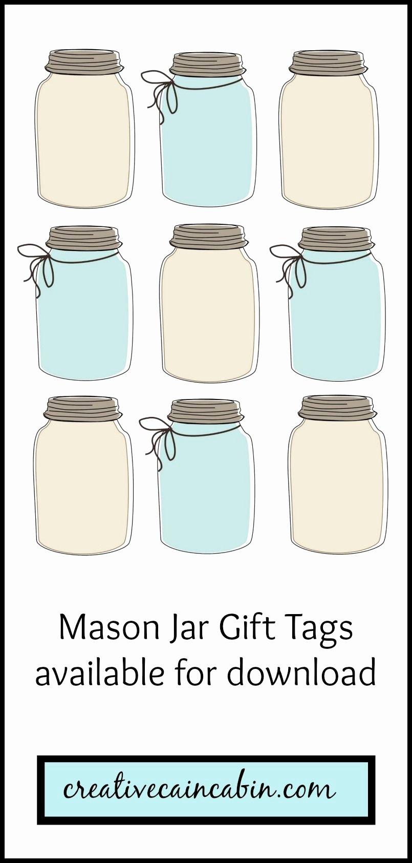 Printable Mason Jar Template Beautiful Hot Chocolate Mix Recipe