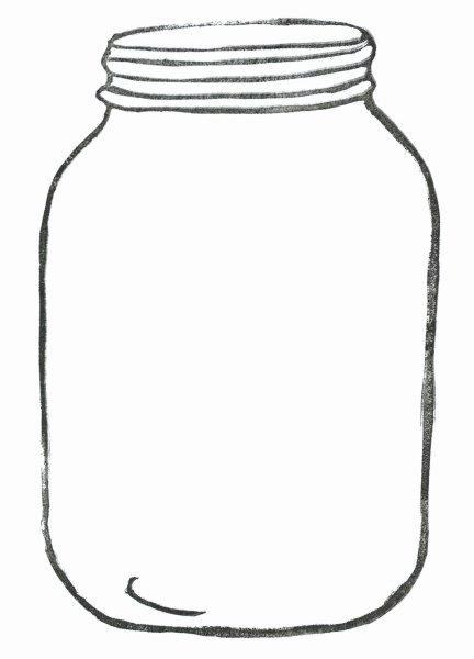 Printable Mason Jar Template Best Of Mason Jar Printable Template