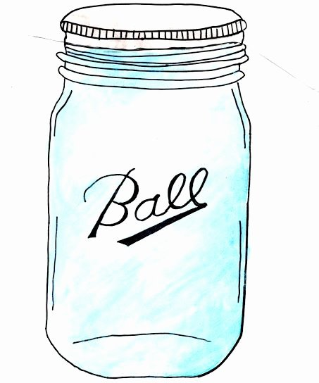 Printable Mason Jar Template Elegant 222 Best Images About Free Mason Jar Printables On Pinterest