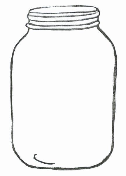 Printable Mason Jar Template Elegant Mason Jar Card Template Punctuate Tion
