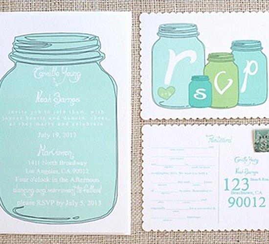 Printable Mason Jar Template Fresh Free Wedding Invitation Templates Mountain Modern Life