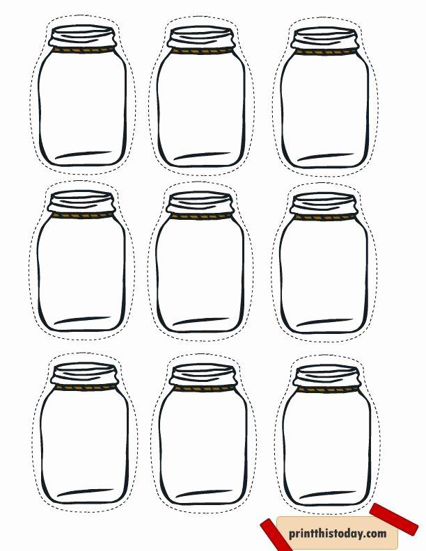 Printable Mason Jar Template Unique Best 25 Free Printable Tags Ideas On Pinterest