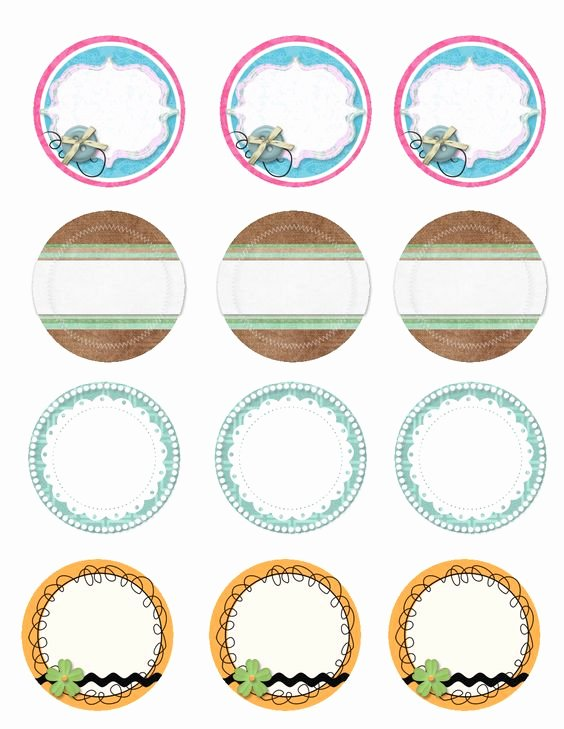 Printable Mason Jar Templates Awesome Free Canning Labels Images