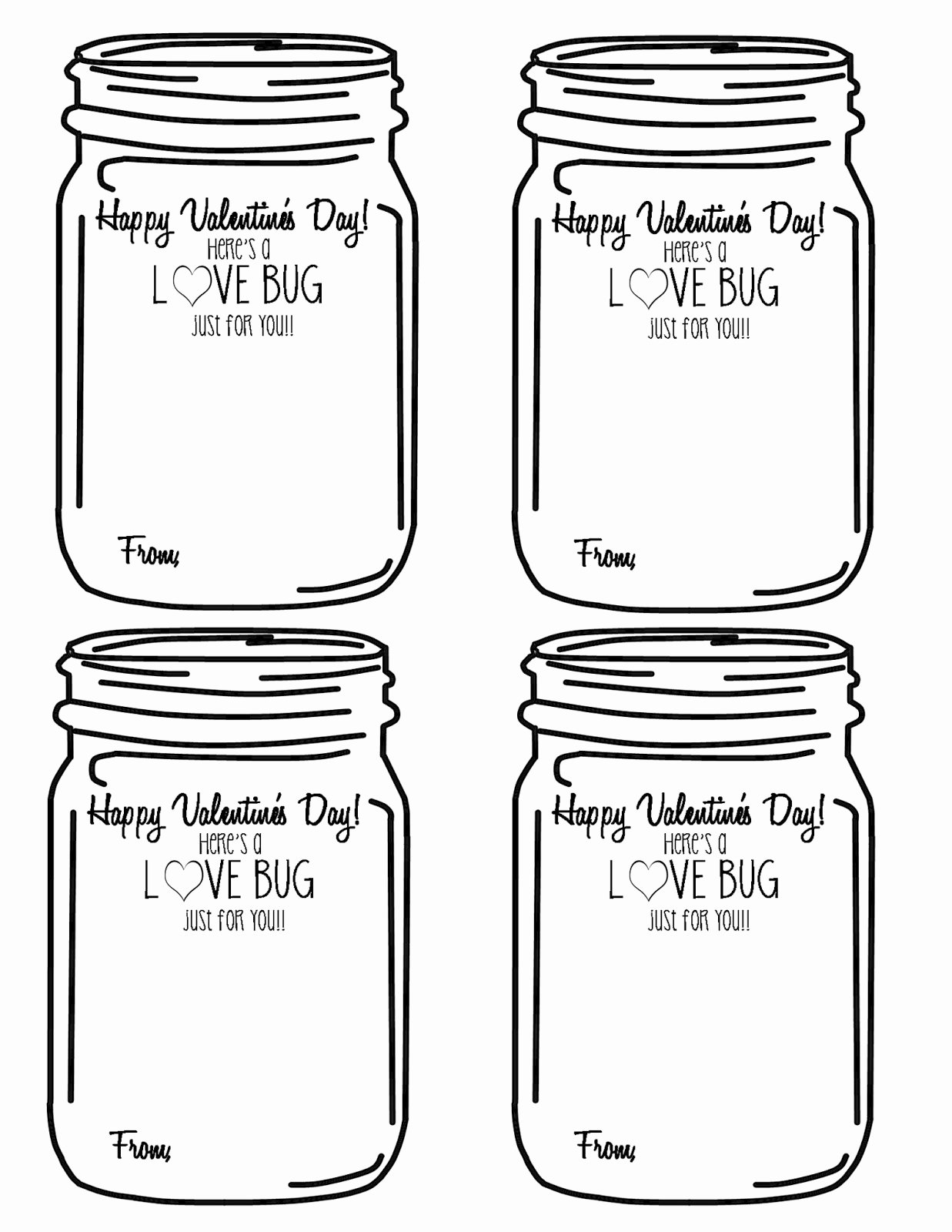 Printable Mason Jar Templates Awesome Mason Jar Printable Template – Printabletemplates