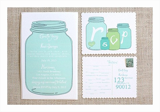 Printable Mason Jar Templates Fresh 10 Free Printable Wedding Invitations Diy Wedding