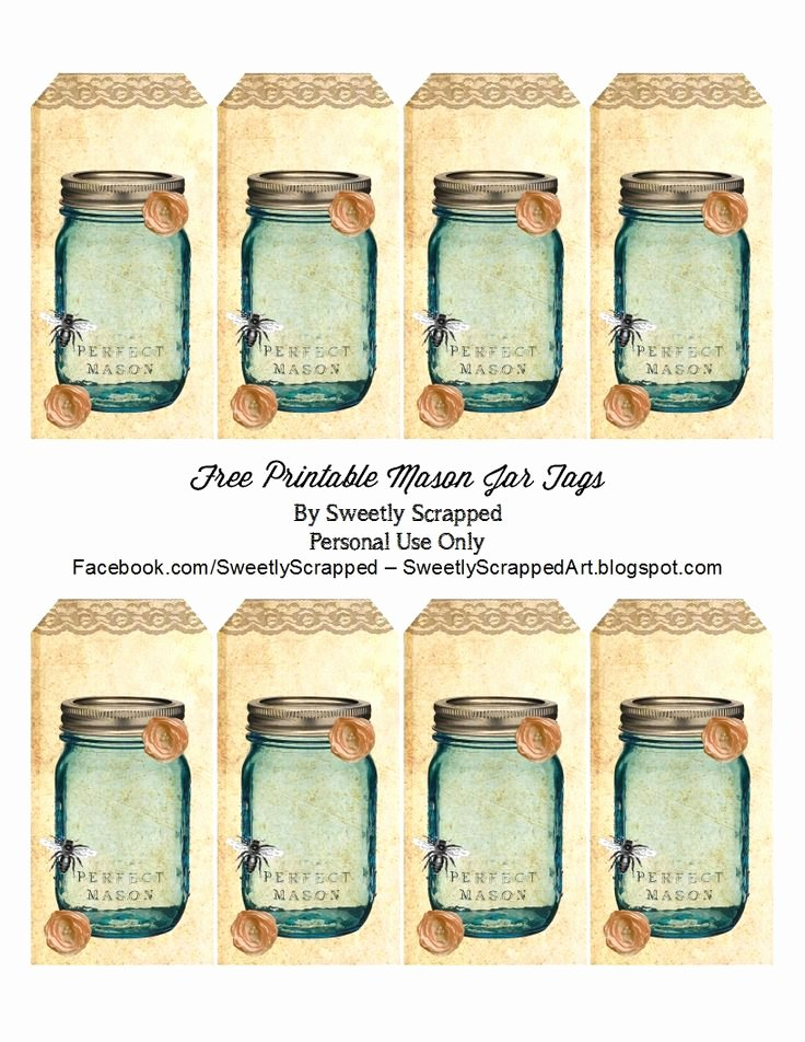 Printable Mason Jar Templates Fresh 25 Best Jar Labels Free Jar Labels Jar Label Templates