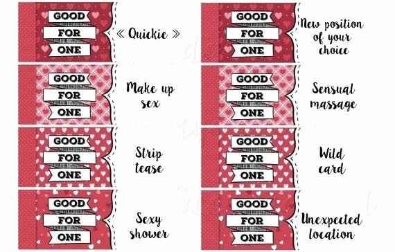 Printable Massage Coupons Unique Cute Homemade Coupons for Boyfriend Cute Homemade Coupons