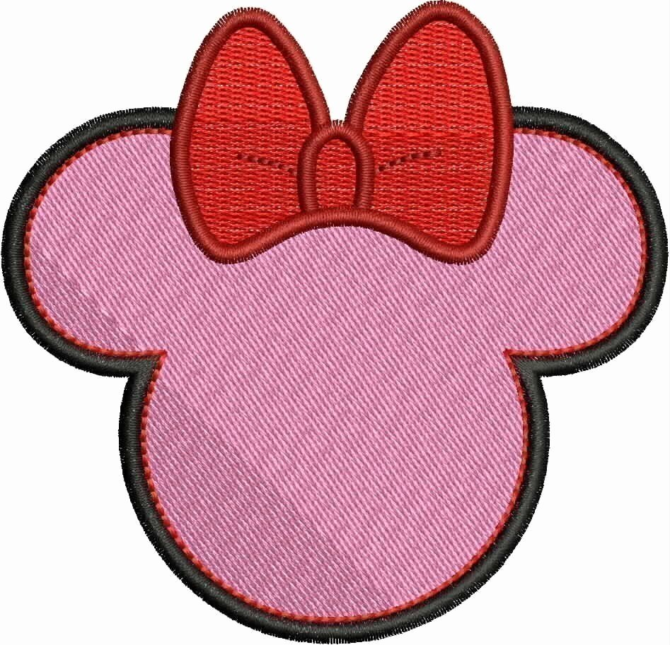 Printable Minnie Mouse Head Beautiful Minnie Mouse Head Silhouette Printable at Getdrawings