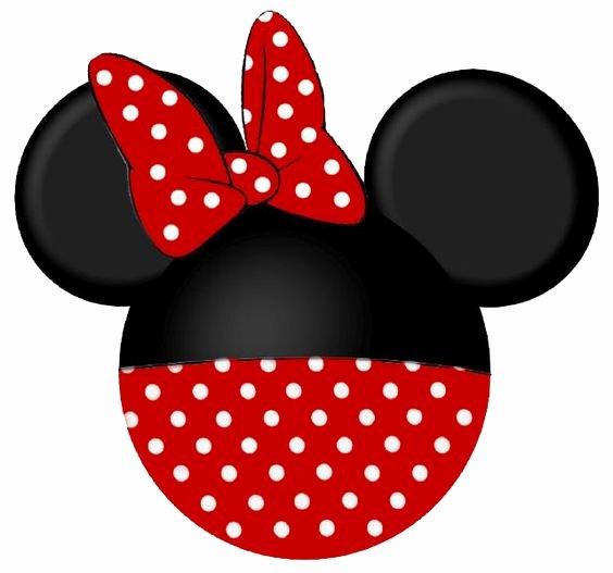Printable Minnie Mouse Head New Disney Parties Disney and Walt Disney On Pinterest