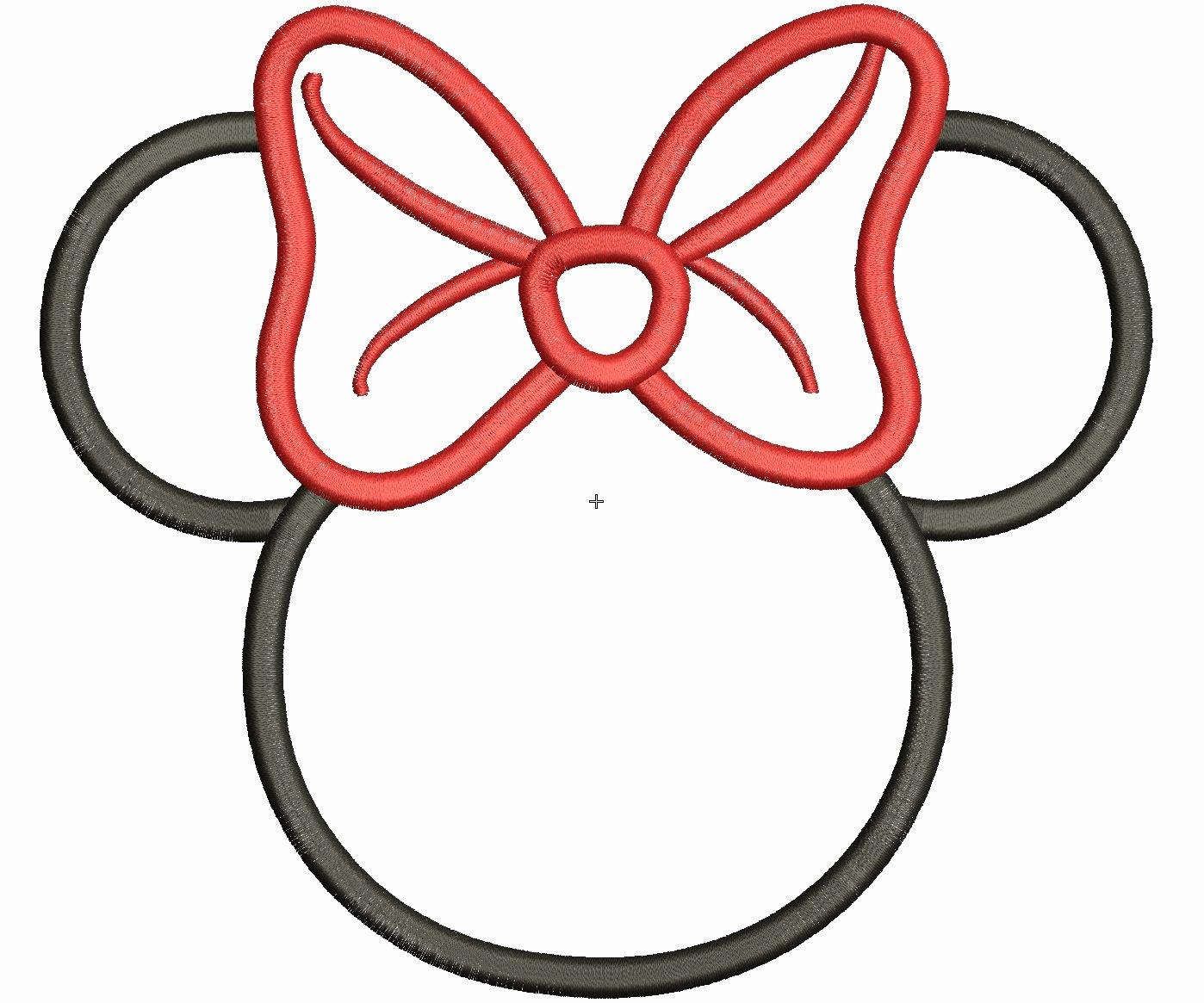 Printable Minnie Mouse Head Unique Best Minnie Mouse Head 9043 Clipartion