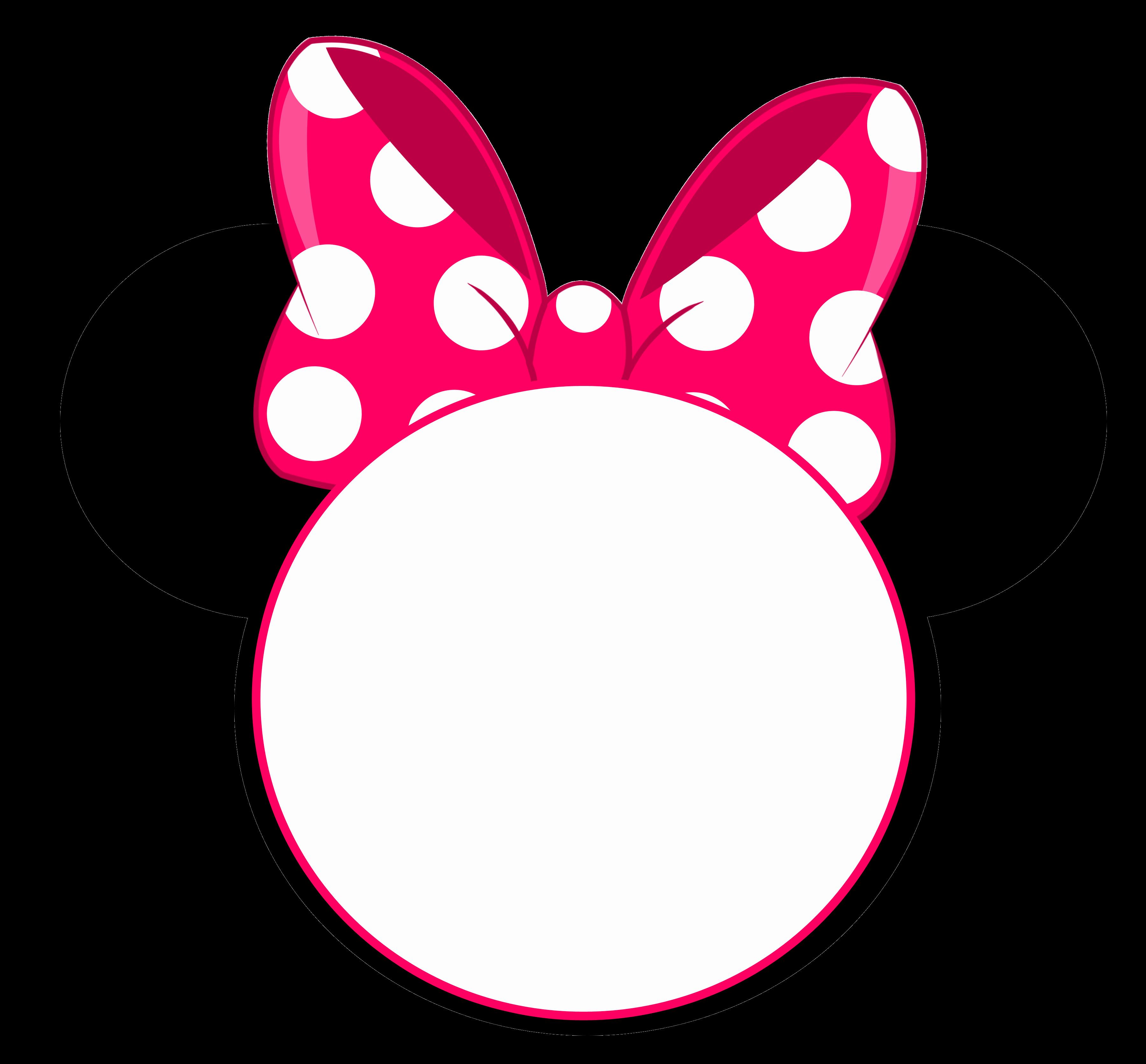 Printable Minnie Mouse Head Unique Free Printable Minnie Mouse Pinky Birthday Invitation