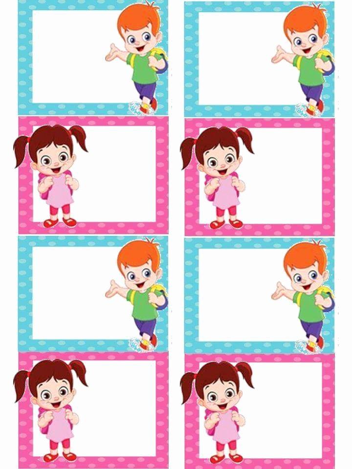 Printable Name Tags for Preschool Beautiful Preschool Name Tag Template Ideas 12 Preschool and