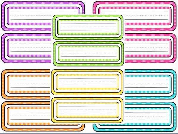 Printable Name Tags for Preschool Best Of Free Printable Polka Dot Name Tags