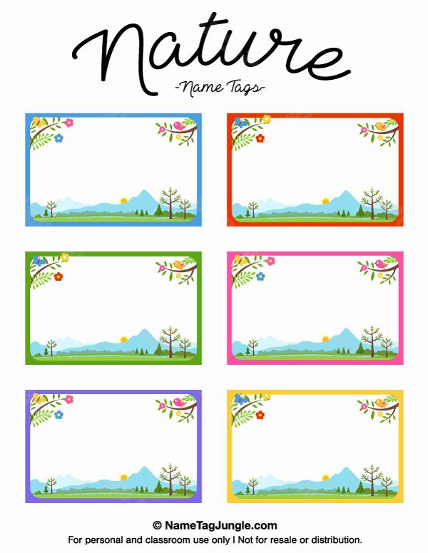 Printable Name Tags for Preschool Fresh Pin by Muse Printables On Name Tags at Nametagjungle