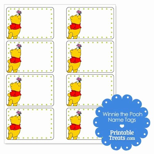 Printable Name Tags for Preschool Unique 101 Best Images About Pooh Kindergarten Classroom On