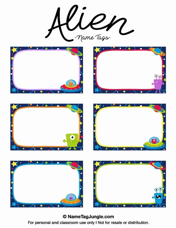 Printable Name Tags for Preschool Unique Best 25 Name Tag Templates Ideas On Pinterest