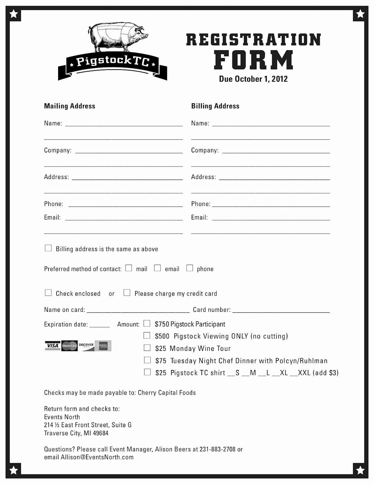 Printable Registration form Template Beautiful Pigstocktc 2012 Pigstocktc Program Schedule & Registration