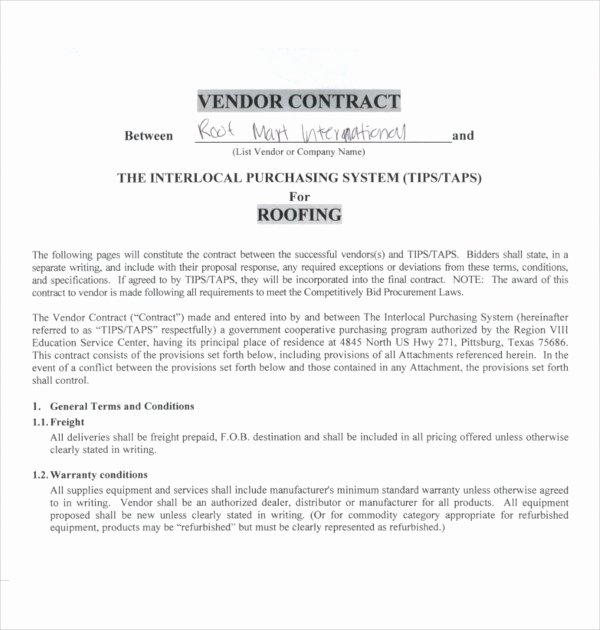 Printable Roofing Contracts Best Of 15 Roofing Contract Templates Word Google Docs Apple