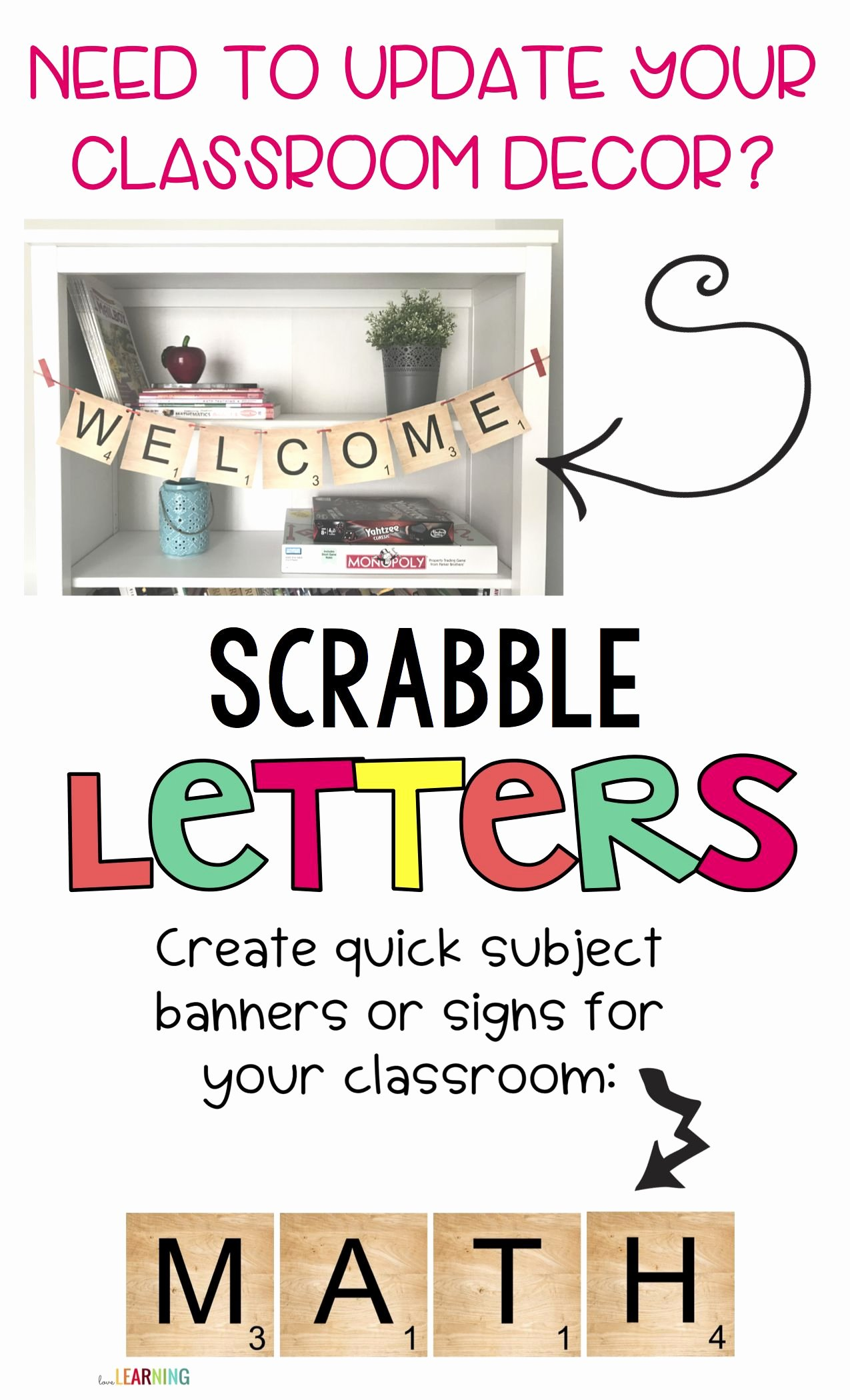 Printable Scrabble Board Template Lovely Scrabble Letters Use for Banners Labels or Bulletin