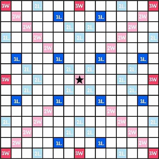Printable Scrabble Board Template Luxury Best 25 Scrabble Board Ideas On Pinterest