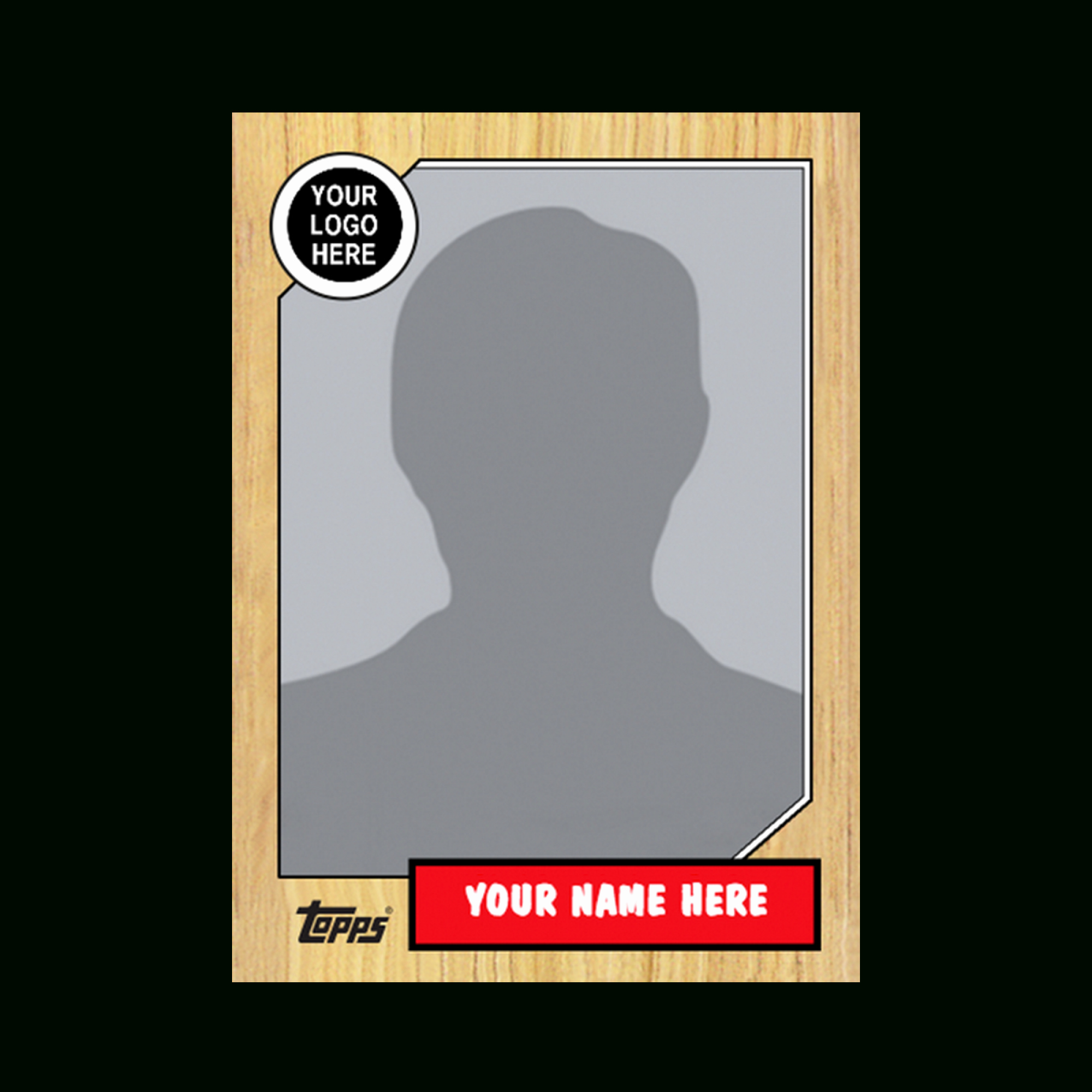 Printable Trading Card Template Elegant Baseball Card Template