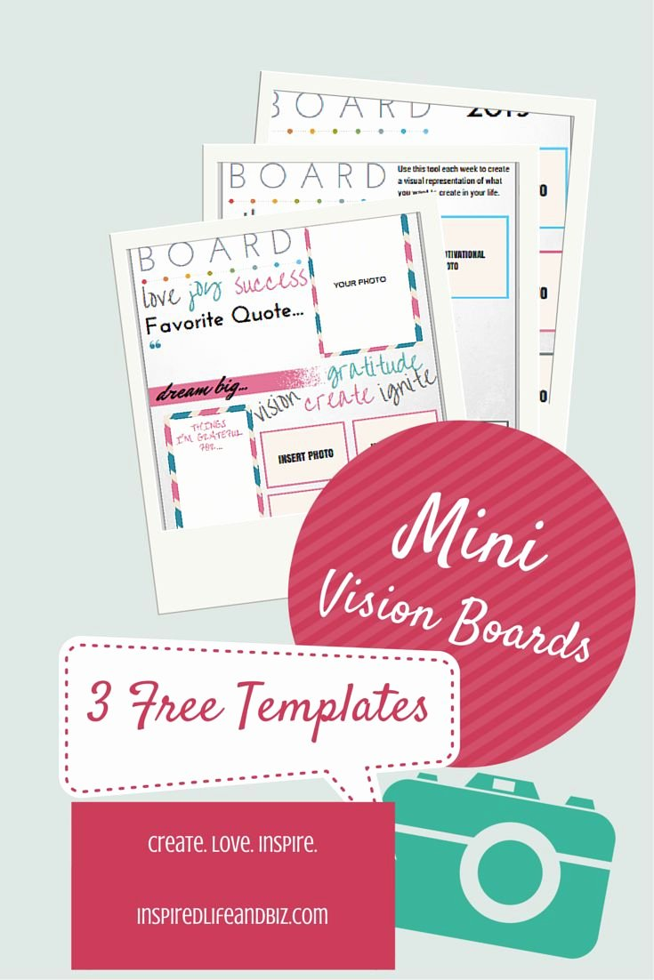 Printable Vision Board Template Awesome 25 Unique Vision Board Template Ideas On Pinterest