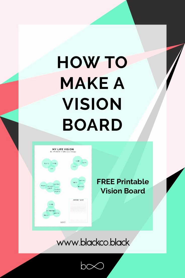 Printable Vision Board Template Beautiful Best 25 Vision Board Template Ideas On Pinterest