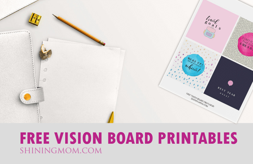 Printable Vision Board Template Fresh Vision Board Free Printables