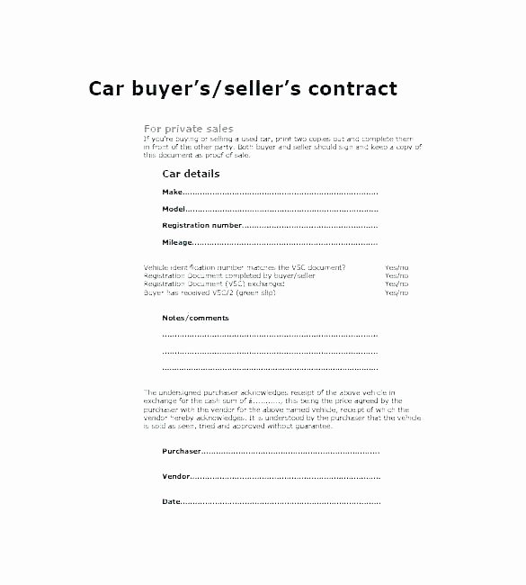 Private Car Sales Contract Awesome 15 Car Bill Of Sale Ca Proposal Letter
