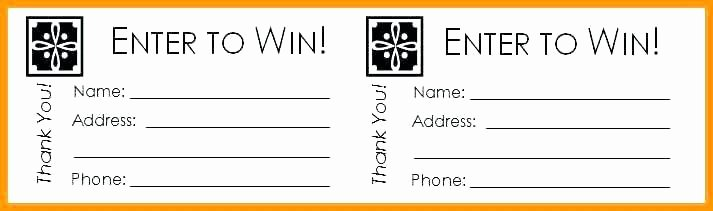 Prize Drawing Template Best Of 15 Free Raffle Ticket Template