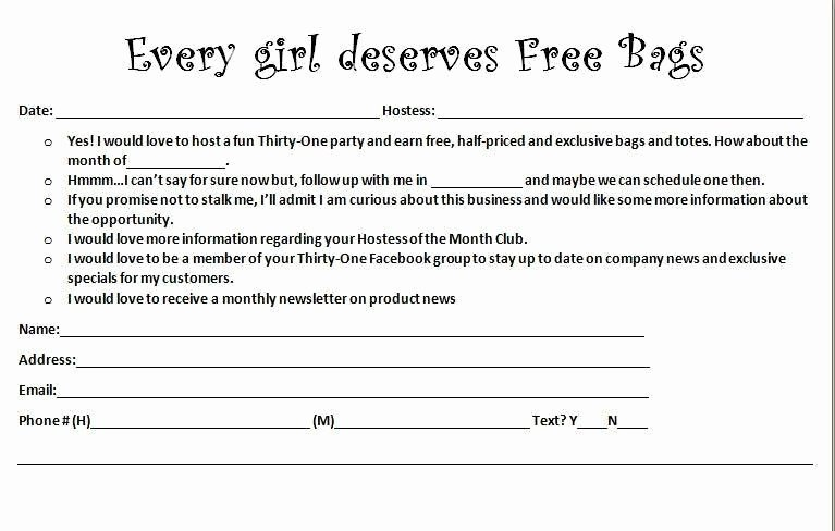 Prize Drawing Template Luxury Beach totes Thirty E Drawing Slips