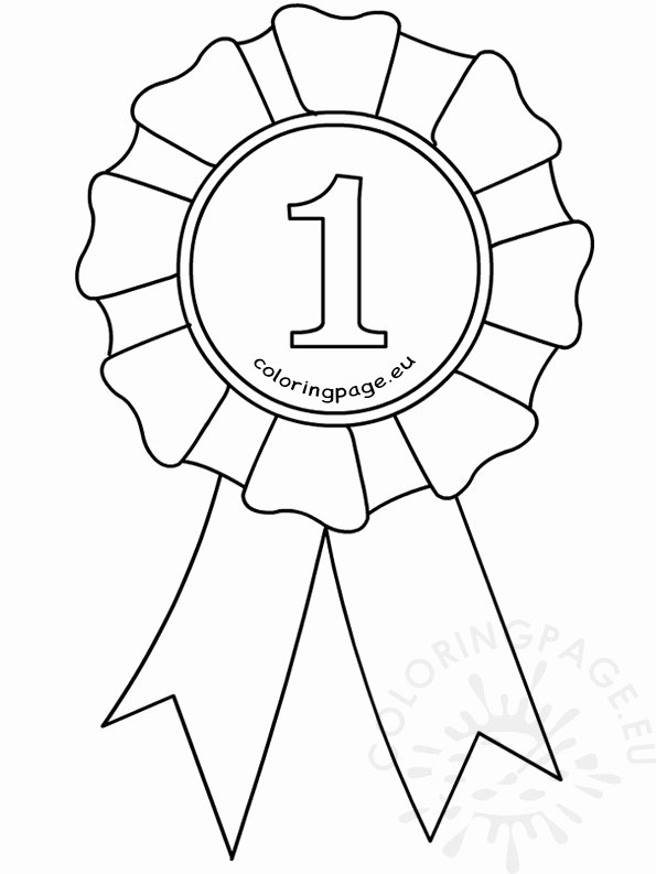 Prize Drawing Template New First Place Ribbon Drawing at Getdrawings