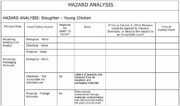 Process Hazard Analysis Template New Job Safety Analysis Template