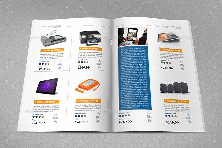 Product Catalogue Template Pdf Best Of Products Catalog Brochure Template Vol2 24 Pages by