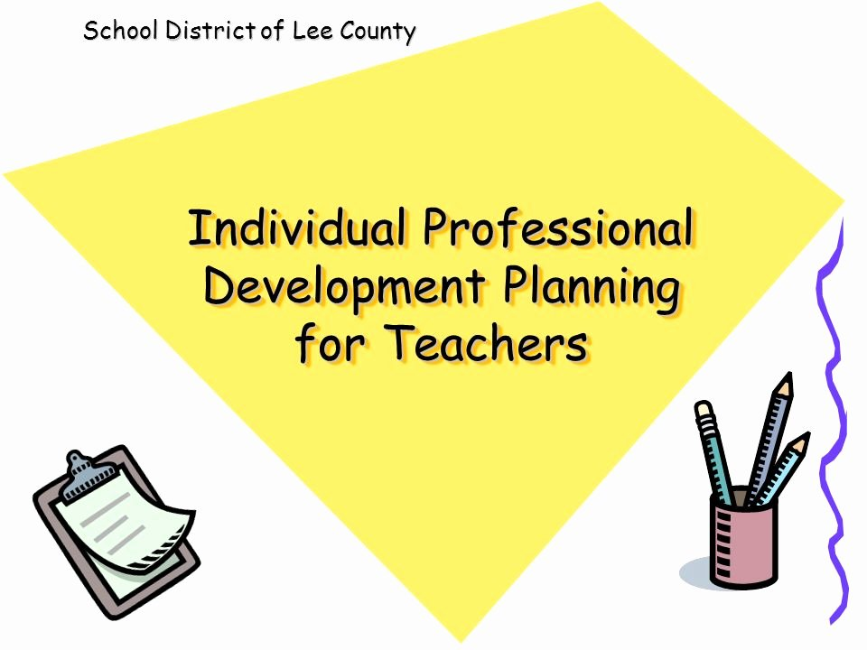 Professional Development Plan for Teachers Example Lovely Individual Professional Development Planning for Teachers