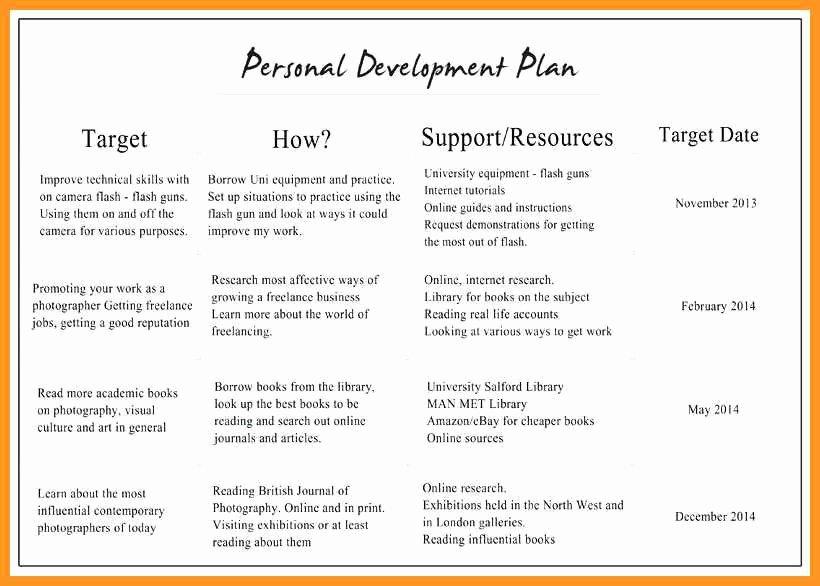 Professional Development Plan for Teachers Example Luxury 10 11 Professional Development Plan Samples