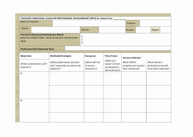 Professional Development Plan for Teachers Example Unique Index Of Cdn 15 2013 638