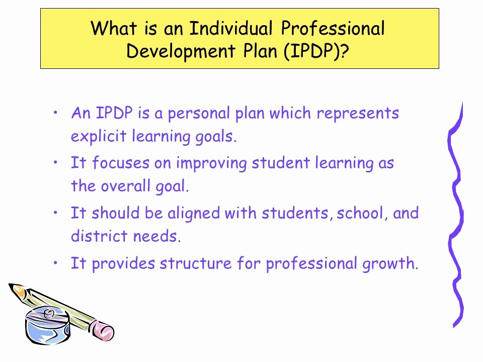 Professional Development Plan for Teachers Examples Awesome Individual Professional Development Planning for Teachers