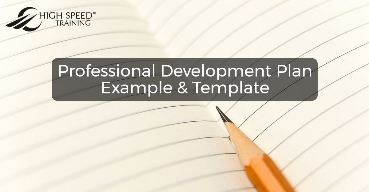 Professional Development Plan for Teachers Template New Free Professional Development Plan Example & Template