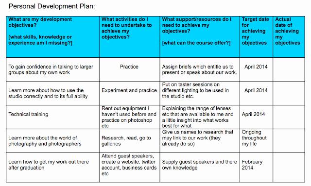 Professional Development Plan Sample Best Of Personal Development Plan Professional Frameworks 3