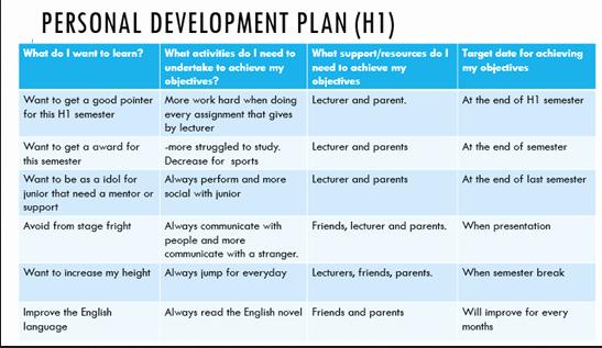 Professional Development Plan Sample Unique Personal and Professional Development Plan – Adyusofzz